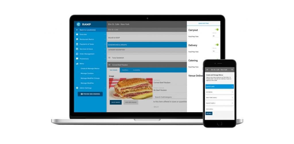 Streamline Business Solutions Managing Menus