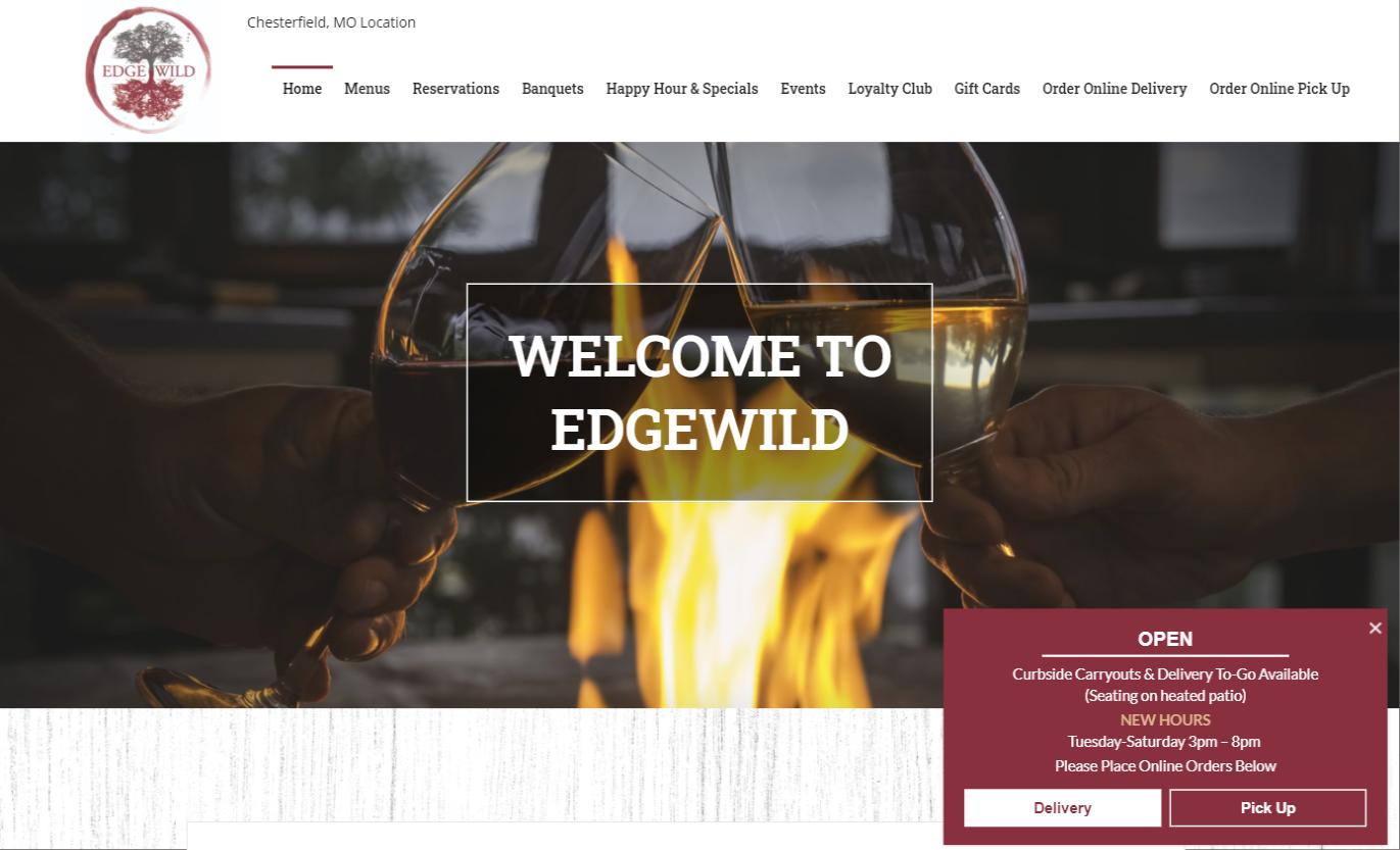 EdgeWild Website Responsive St. Louis