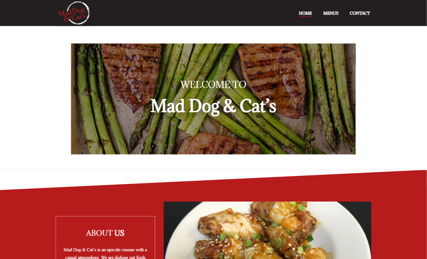 Mad Dog & Cat's Website St. Louis