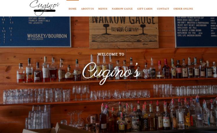 web design Cugino's stl